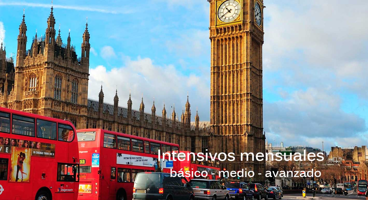 Inglés intensivo mensual