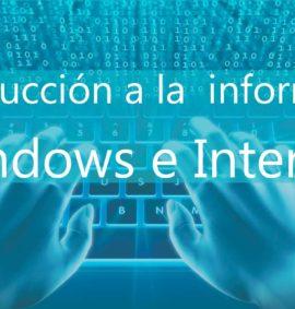 curso de introduccion a la informatica windows e-internet