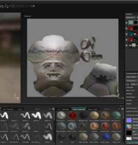 curso Introducción texturizado con Substance Painter