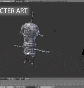 Curso Introducción a Character Art con Blender