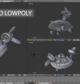 Curso introducción modelado lowpoly con blender