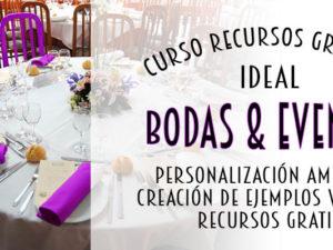 curso de Photoshop para eventos y bodas en Barcelona está diseñado para profesionales que desean crear presentaciones virtuales de cómo quedará un evento antes de realizarlo.