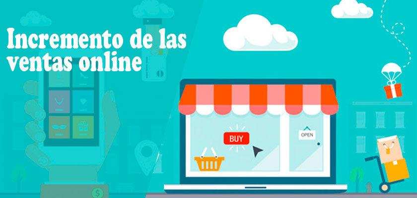 Crece la ventas online en Españ