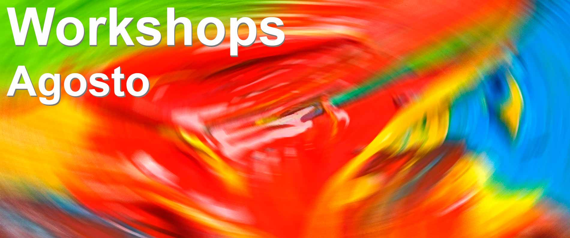 workshops agosto - talleres de agosto de diseño gráfico