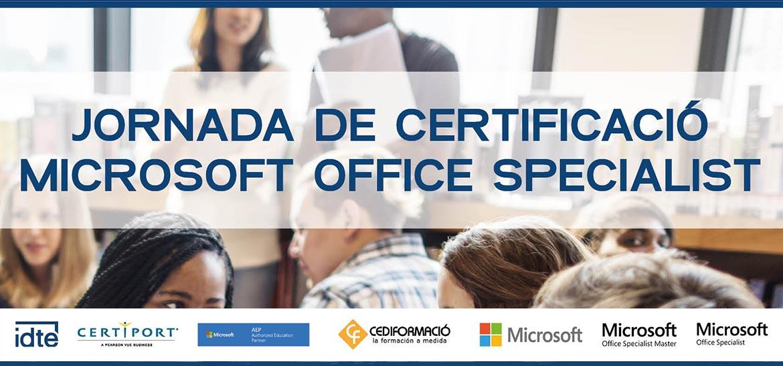 Certificación Microsoft Office Specialist en CEDIFORMACIO