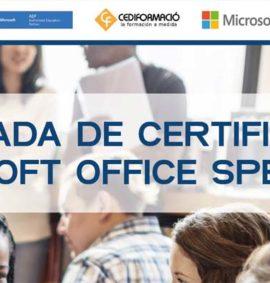 certificación microsoft office specialist