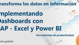 Evento de Excel Productividad con SAP Excel y PowerBI