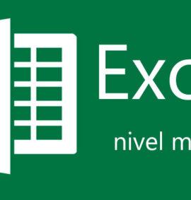 Curso Excel nivel medio-avanzado