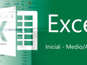 Curso de Excel de Inicial a medio Avanzado